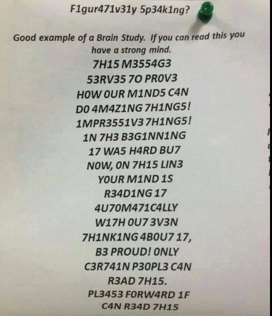 Kan du läsa